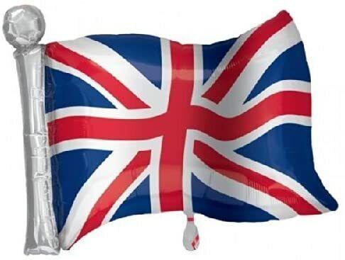 CLEARANCE  Union Jack London Icons Supershape Foil Balloon