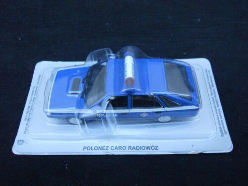 Legendary Cars POLONEZ CARO POLICIA RADIOWOZ  1:43 Die Cast MV39-3