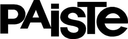 Paiste Drum Logo Decal//Sticker **Colour Choice**