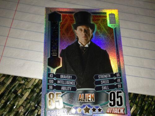DR WHO ALIEN ATTAX INDIVIDUAL Rainbow Foils
