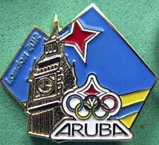 LONDON '12 Olympic ARUBA NOC Internal team - delegation t pin