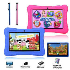 Computer & Office Nice Bdf 7 Inch Android 4.4 Tablet Pc Quad Core Cpu 8g Storage 1024*600 Hd Screen Baby Christmas Gift Tablets 7 8 9 10 Free Shipping