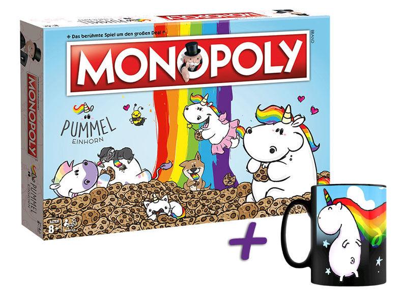 Monopoly Aqueduc licorne jeu de plateau Jeu + magie Tasse Licorne  Sparkle  Tasse