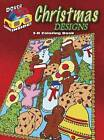3-D Coloring Book - Christmas Designs by Jessica Mazurkiewicz, Marty Noble (Paperback, 2013)