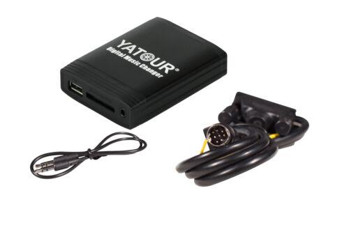YATOUR USB SD AUX In adaptateur mp3 pour VOLVO SC Radio s40 v40 v70 v90 s70