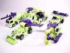 Transformers G1 Devastator hook Long hual Scavenger scrapper Mixmaster Toy New