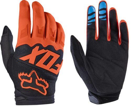 Fox Dirtpaw Race Adult MX ATV Motorcycle Off Road Orange Gloves 17291-009