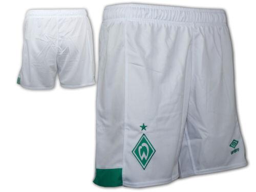 XXL Umbro SV Werder Bremen Home Short weiß SVW Sporthose Werder Turnhose Gr.S