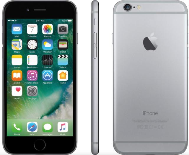 Apple  iPhone 6 - 16GB - Spacegrau (Ohne Simlock) Smartphone - NEU BULK