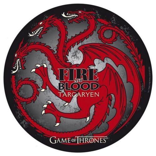 Game of Thrones - Mauspad Mausmatte - Targaryen Logo - 21,5 cm