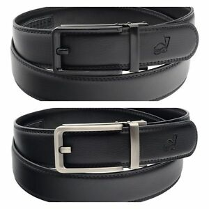 QHA Mens Automatic Ratchet Belt For Men Luxury Casual Fashion Waist Buckle Gift