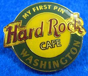 Washington-Originale-My-Primo-Perno-Serie-Rotondo-Logo-Rigida-Rock-Cafe-Tac-Back