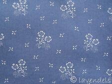 Dirndlstoff ♥ blau ozeanblau Baumwolle Trachten Stoff Rosen Trachtenstoff Blumen