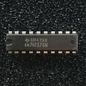 TI SN74ALS574BN Octal D-Type Flip-Flops w//Tri-State Output PDIP-20 PKG of 5