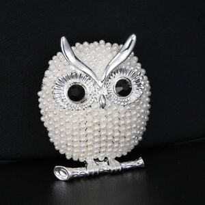 Fashion-Lovely-Animal-Owl-Rhinestone-Crystal-Women-Brooch-Pin-Breastpin-Jewelry