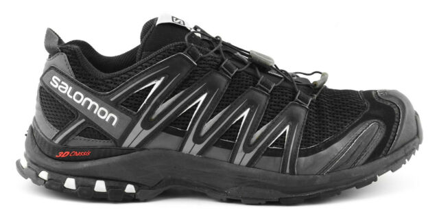 prix le plus bas 3467e c6a2f MENS SALOMON XA PRO 3D RUNNING HIKING TRAIL SHOES SIZE 11.5 US 46 EU BLACK  GRAY