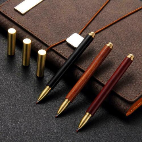Vintage Kugelschreiber Holz Messing Gelschreiber Schreibwaren 2019 Gelschre J7T1