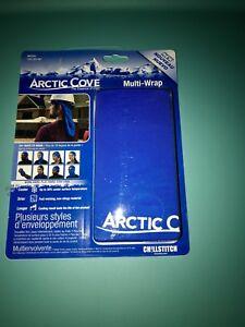 "Arctic Cove MAC520 Chillstitch 10/""x 20/"" Chillstitch Multi-Wrap Cooling Towel 930"