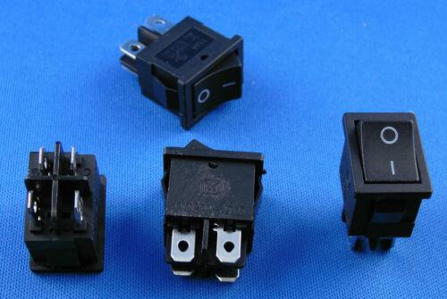 appareils Interrupteur Interrupteur va et vient 4 Pin 6 A 250 V avec l/'Eau Densité Couverture 19x13mm