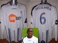 Bolton Wanderers Muamba XL XXL Reebok BNWT NEW Shirt Jersey Football Soccer L/S