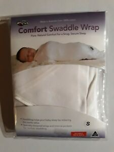98f762ff997 Snug as a Bug Multi Purpose White Baby Swaddle Wrap Size Medium 00 3 ...