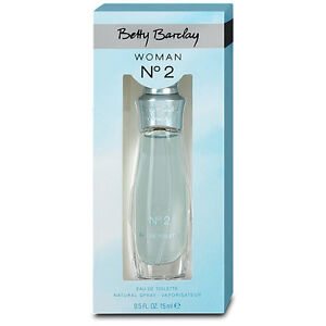 betty barclay woman no 2 eau de parfum edp 15ml new sealed rare ebay. Black Bedroom Furniture Sets. Home Design Ideas