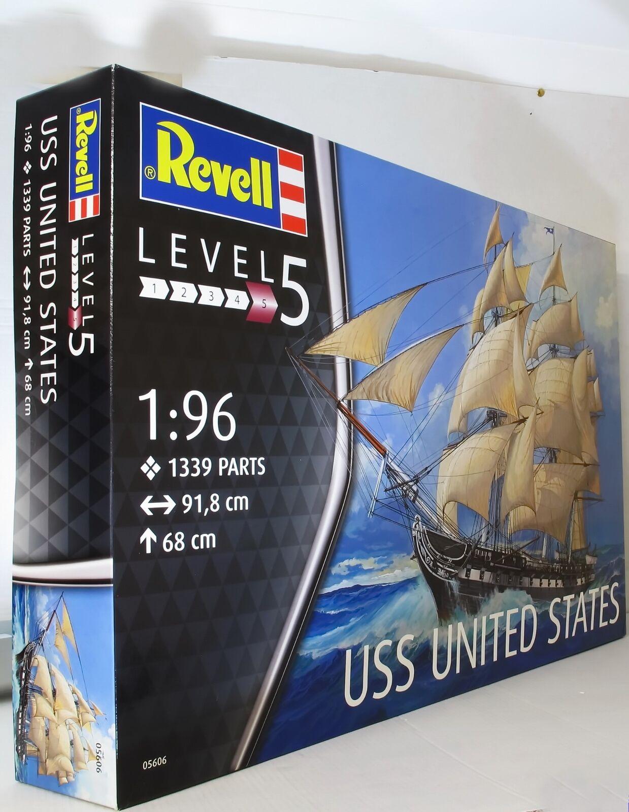 Revell 1 96 05606 USS United States Model Ship Kit