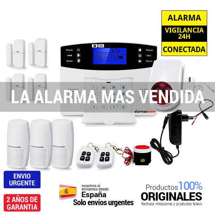Completa Alarma hogar con seguridad Hogar Sirena inalambrica movimiento AZ017-22
