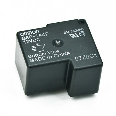 G8P-1A4TP RELAY 12Vdc- 250V~//30A OMRON ELECTRONIC COMPONENTS