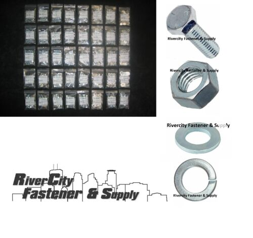 Bolt assortment With Nuts /& Washers Coarse Thread 1775pc Grade 5 Hex Cap Screw