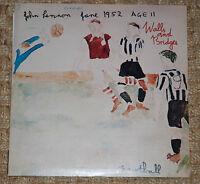 JOHN LENNON Walls And Bridges - 1st Comple1974 VINYL LP Apple PCTC 253 12-tracks