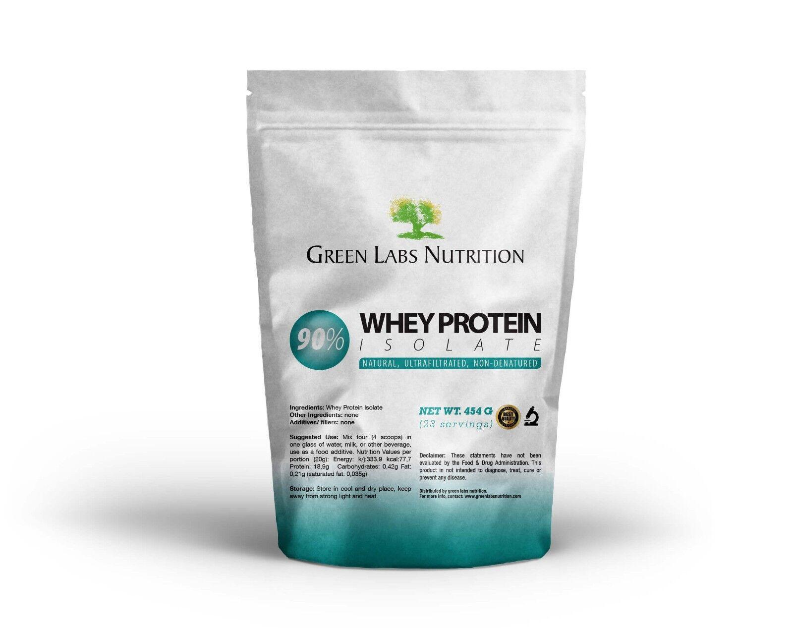Isolat de protéine de lactosérum, poudre pure 90% WPI sans saveur