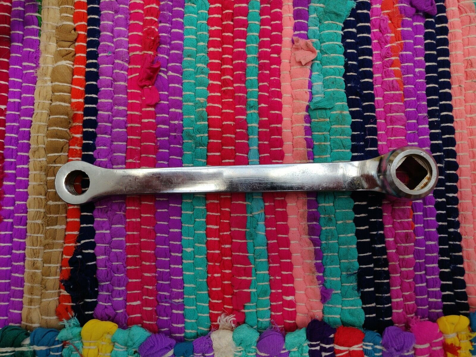 Vintage Campagnolo Sport steel Crankset  53 53 53 42 5eb08a
