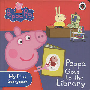 Peppa-Pig-Peppa-goes-to-the-library-by-Neville-Astley-Mark-Baker-Board-book