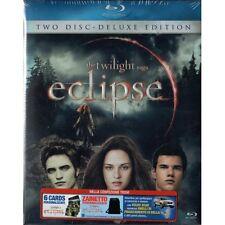 Eclipse The Twilight Saga Deluxe Edition + Zainetto 6 Cards 2 Blu Ray Sigillato