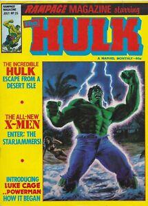 RAMPAGE-MAGAZINE-Starring-THE-HULK-25-Marvel-Comics-UK-1978