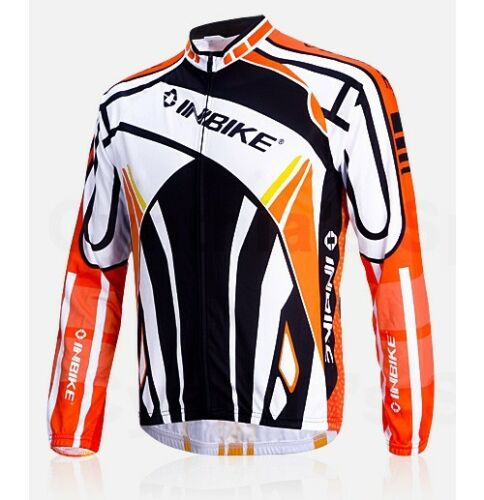 IA311 FLJ INBIKE Cycling Bike Windproof Fleeced Long Sleeves Jersey *Top Only*