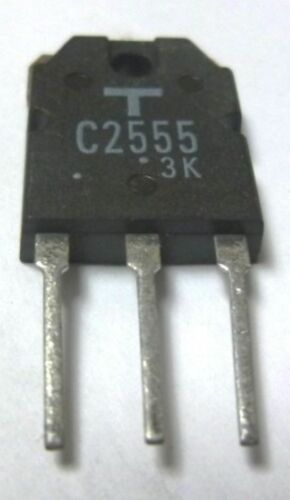 TOSHIBA 2SC2555 TO-3P Transistors de puissance 8.0 A 400 V 80 W