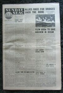 Sunday-SEAC-Vintage-Newspaper-Sunday-4th-March-1945
