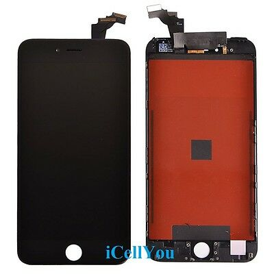 Replacement LCD Screen + Touch Digitizer Assembly for iPhone 6 Plus 5.5 Black 6+
