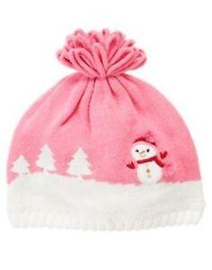NWT GYMBOREE SMILING SNOWMAN ALPINE SWEATER HAT 2T 3T