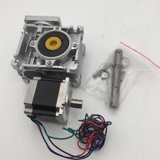 11nm Worm Gearbox Stepper Motor L56mm Nema23 101 3a 4wire Cnc 3d Printer Kit