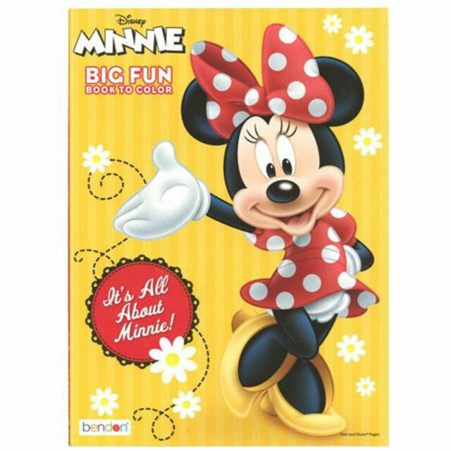 - Disney Minnie Mouse Coloring Book With 8pc Color Pencil Study Play Kit For  Sale Online EBay