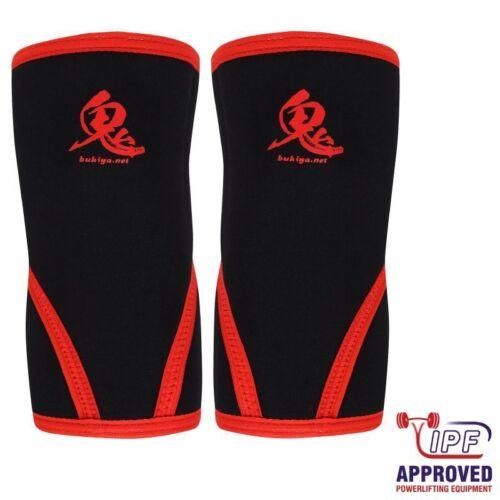 Bukiya Oni Knee Sleeves schwarz IPF approved