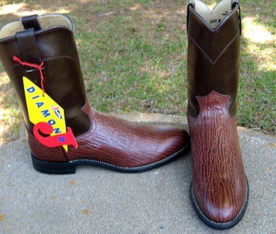 Nuevas botas DIAMOND J. Roper de vaquero 10'B