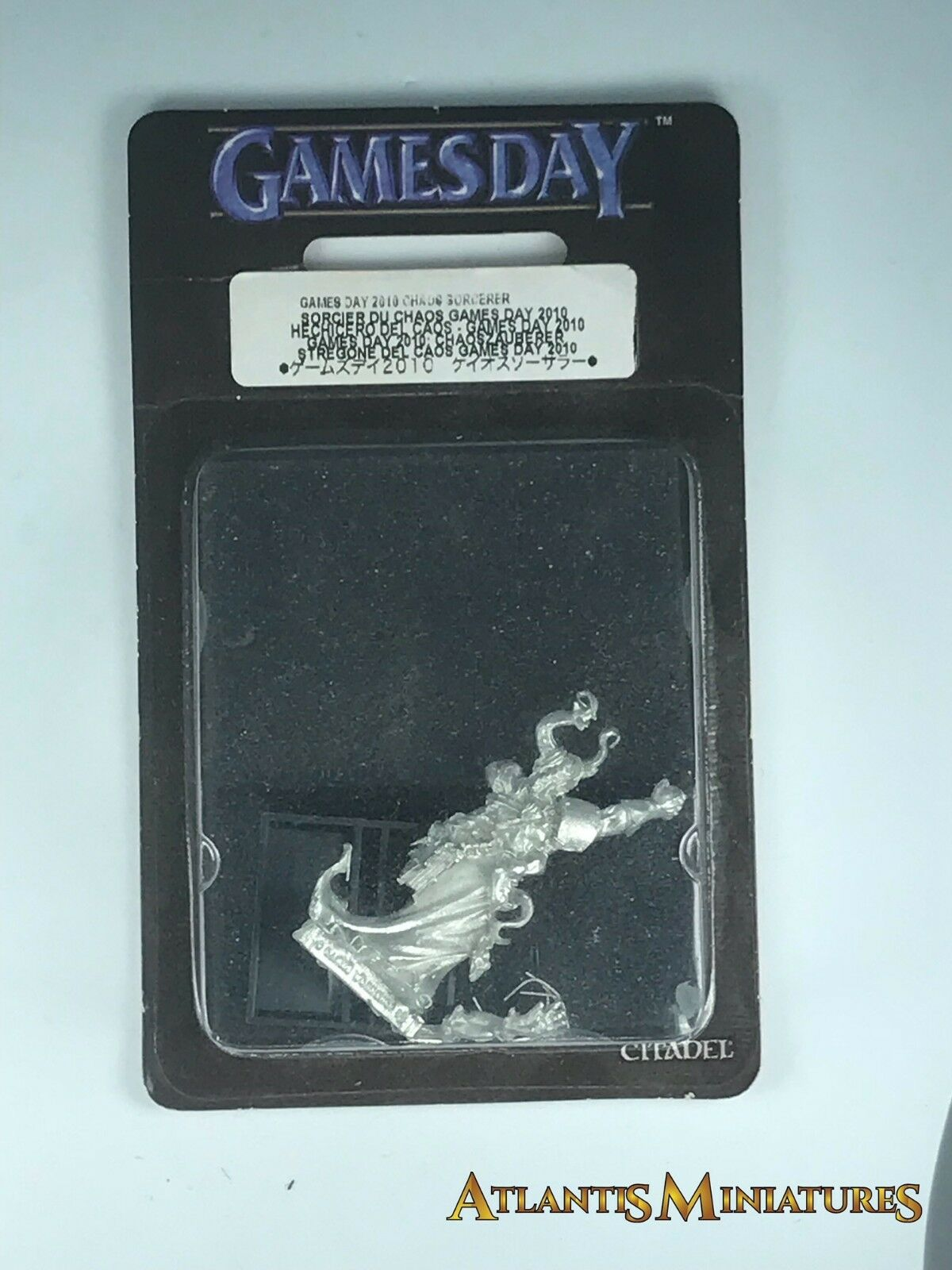 Metal Gamesday 2010 Chaos Sorcerer Blister - OOP - Warhammer  Age of Sigmar C427