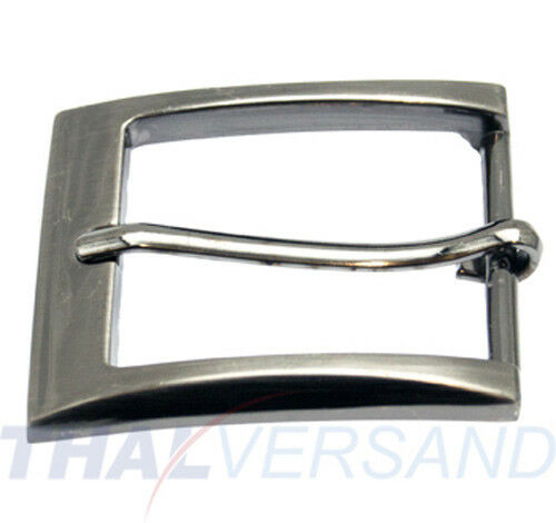 10 St.Gürtelschnallen 35mm Zinkdruckguss Silber Antik 47181623510 Gürtelschnalle
