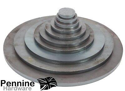 Round 10 Mm Mild Steel Blank Discs Plate Sheet 40 300 Mm