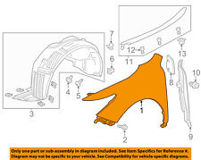 Partomotive For 09-14 TSX Front Fender Quarter Panel Passenger Side RH AC1241120 60210TL0A91ZZ