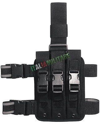Vega Holster Kit Cosciale 2K90 Triplo Porta Caricatori per H&K MP5 - Vari Colori